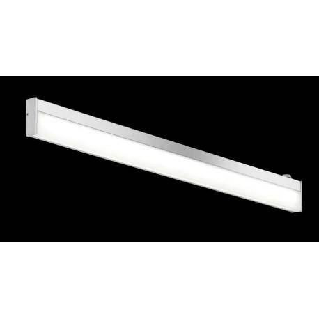 Applique salle de bain LED chrome/acrylique - Javillier Luminaires ...